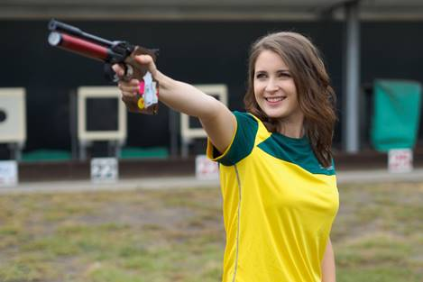 Olympic Dream isn't over for Australian Pistol shooter Hayley Chapman