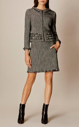 Karen Millen Tweed Jacket