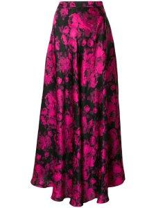 STELLA MCCARTNEY flared patterned maxi skirt