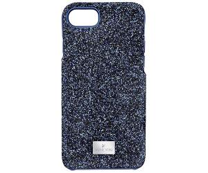 Swarovski High Smartphone Case with Bumper, iPhone® 8, Blue  Stainless steel