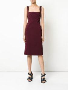 DION LEE pinafore dress