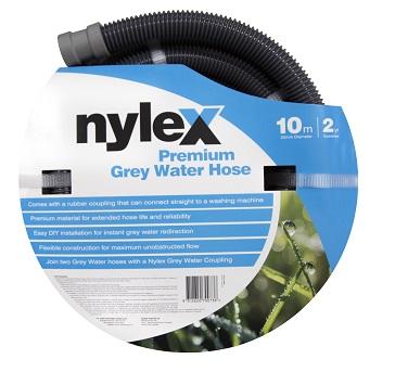Nylex 10m grey water hose