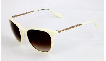 Balmain Ivory White Sunglasses