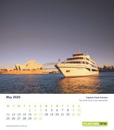 May - Captain Cook Cruises