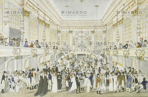 Redoutensaal in der Hofburg  Hofburg  Historische Bilder