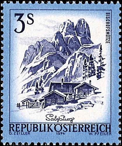 1974  Briefmarken  Kunst und Kultur im AustriaForum