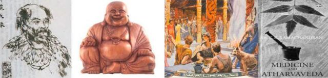 shen, buddha, Kelten, Atharveda