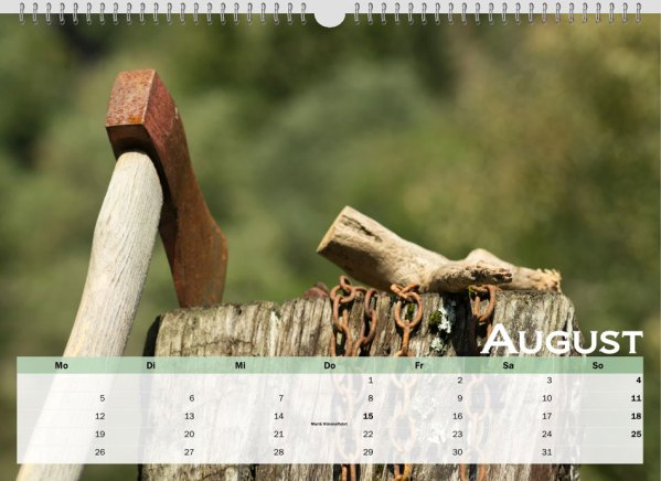 08 August austrialandscapes-org New Years Calendar 2019