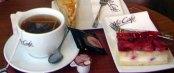 Tea and Cake at Mc Donald's in Austria