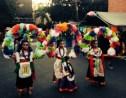 Dancers in Costume at Dia de los Muertos