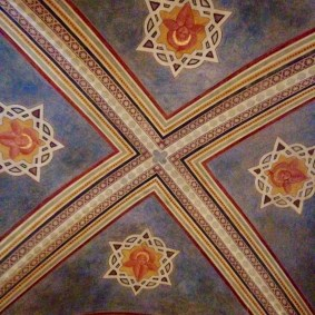 Ceiling of the Museo del Bargello