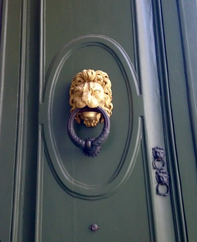 Close-up of a Doorknocker