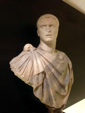 Bust of Roman Emperor Caracalla in Palazzo Medici Riccardi