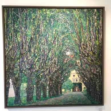 """Klimt"""" Avenue in Front of Kammer Castle"""" 1912"""