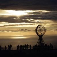 """Am Rande Europas - Das Nordkap (GPS 71° 10' 16,5"""" )"""