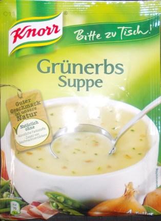 Knorr Grünerbs Suppe