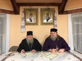 Restoration of the Eucharistic Communion between Bishop Stefan and Archbishop Andronik