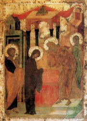 Icons from the Iconostasis of the Trinity Cathedral, Holy Trinity-St. Sergius Lavra