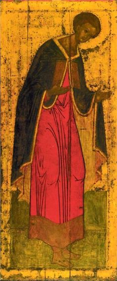 St. Demetrius of Thessalonica, 1425-1427 Andrei Rublev