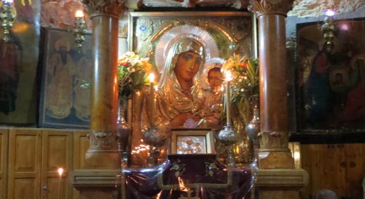 Icon of Mother of God of Jerusalem