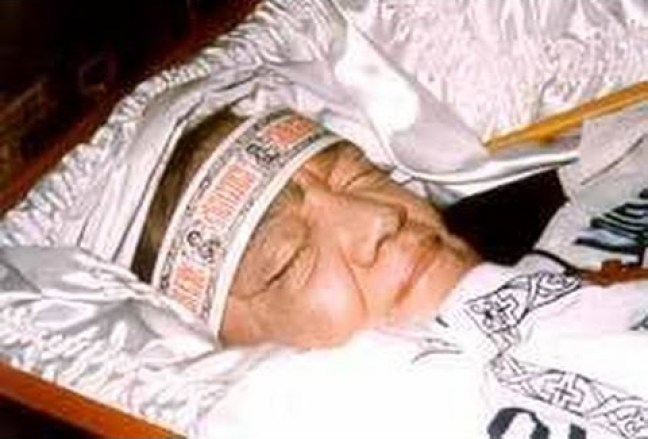 Brother Jose on his death bed