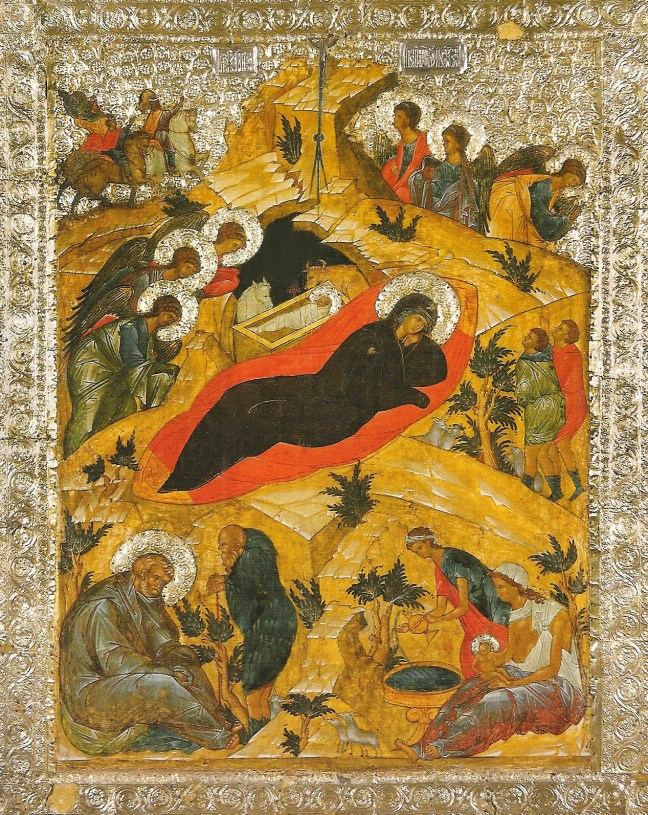 The Nativity Icon, St. Kirill Monastery, Cathedral of the Assumption 1497, Russia