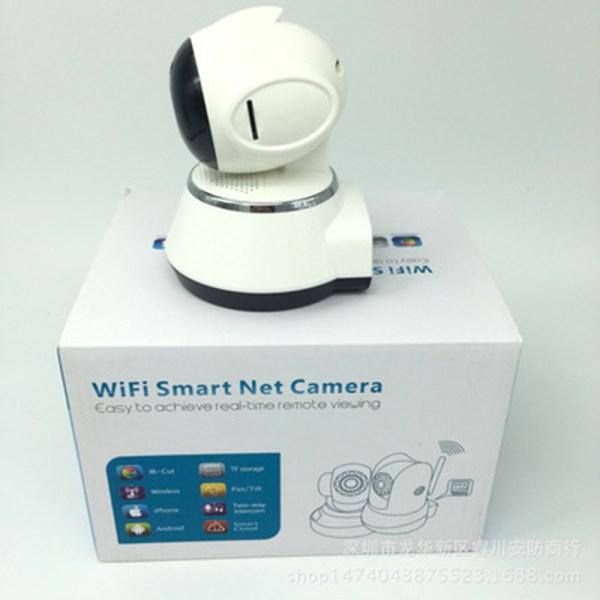 720P WIFI Home Security Camera H.264 Fish-eye Mini CCTV Camera 3