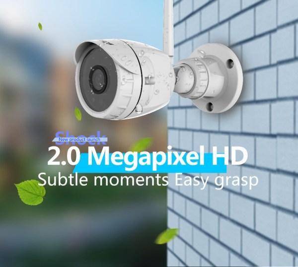 Mini Bullet Camera 1080P Outdoor Wireless Wifi Security IP Camera 2