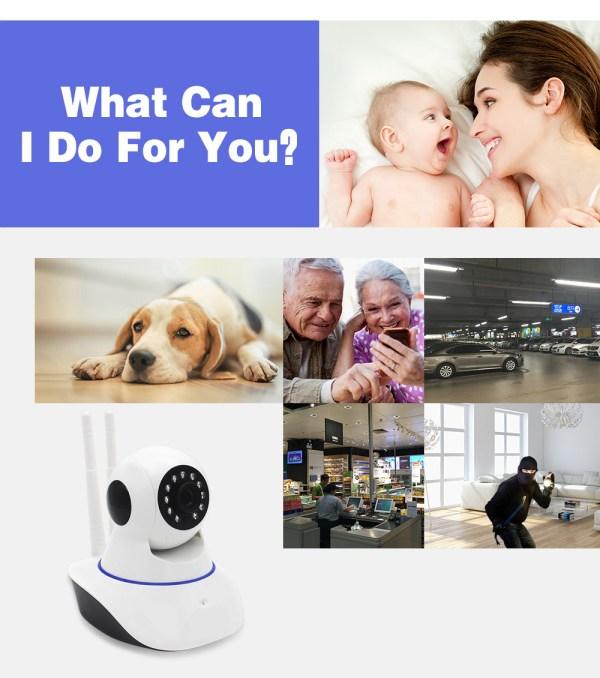 IP Camera WiFi Wireless Surveillance CCTV Camera 720P 960P 1080P Home Security Baby Monitor 5
