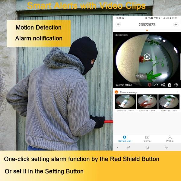 Wireless E27 Bulb WIFI Camera Panoramic 360Degree Mini IR CUT Home Security CCTV Camera 2MP 3MP 5MP Optional 4