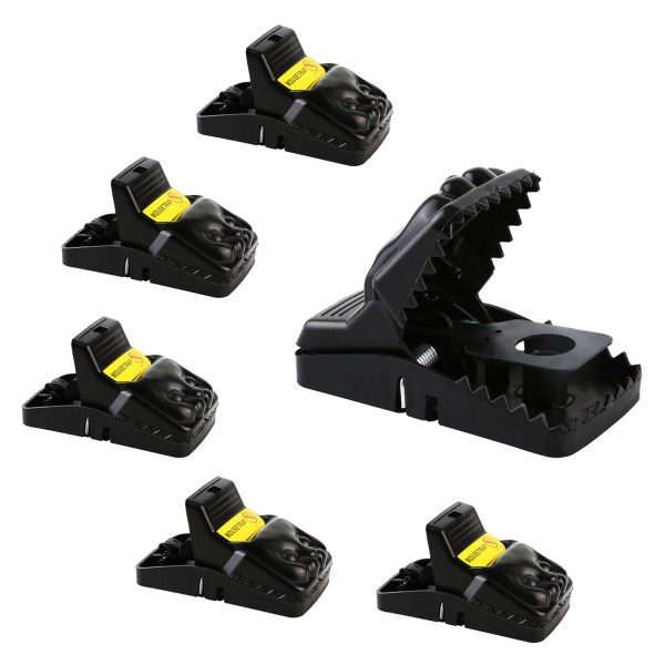 Mouse Trap, Snap Rat Trap That Work Outdoor or Indoor Powerful Sensitive Effective Killer Catcher 6 Pack 1