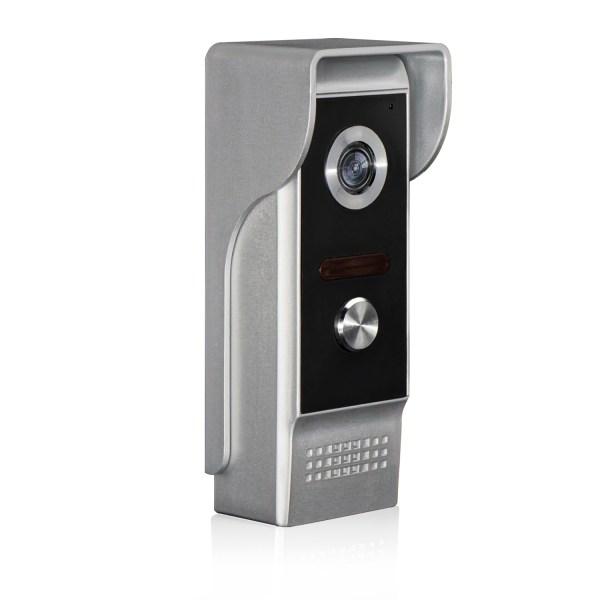 Video Intercom 7'' LCD Color Screen Wired Video Door Phone Audio Intercom with 700TVL CMOS Door Bell 2