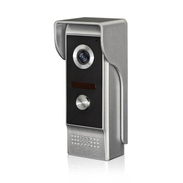 Video Intercom 7'' LCD Color Screen Wired Video Door Phone Audio Intercom with 700TVL CMOS Door Bell 4