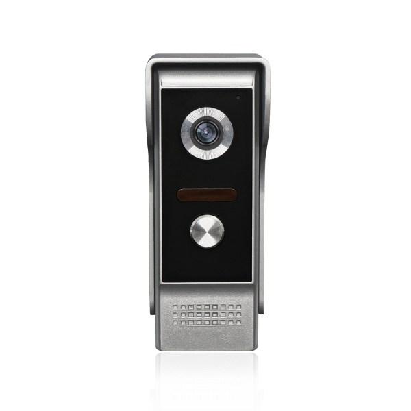 Video Intercom 7'' LCD Color Screen Wired Video Door Phone Audio Intercom with 700TVL CMOS Door Bell 3