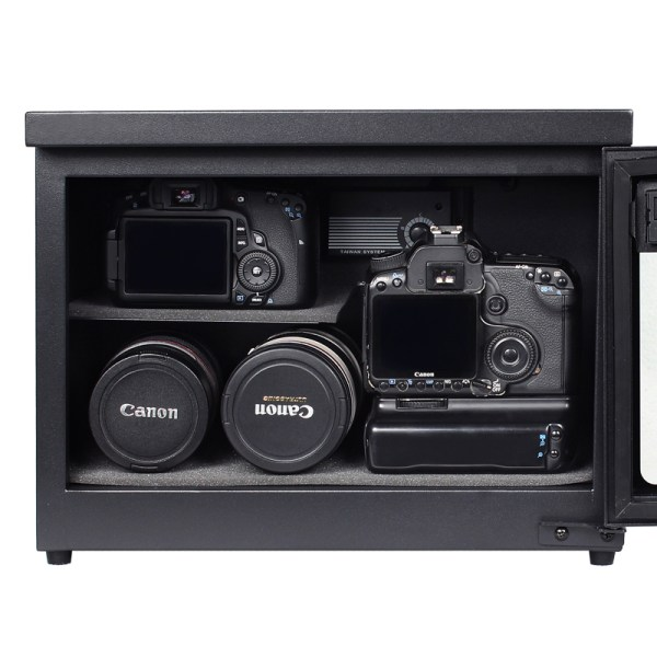 AUTENS 25L Digital Control Dehumidify Dry Cabinet Box DSLR Lens Camera Equipment Storage 4