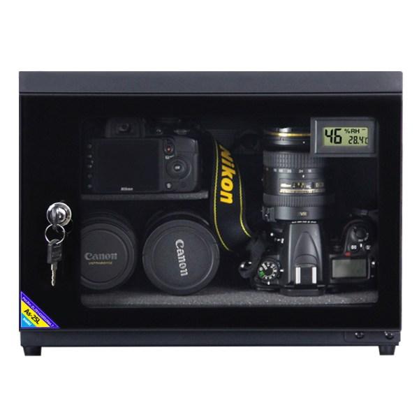 AUTENS 25L Digital Control Dehumidify Dry Cabinet Box DSLR Lens Camera Equipment Storage 5