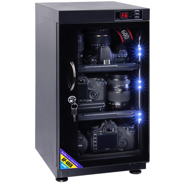 AUTENS 48L Digital Control Dehumidify Dry Cabinet Box DSLR Lens Camera Equipment Storage 1