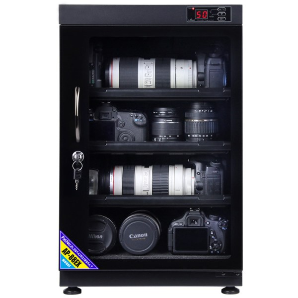 AUTENS 88L Digital Control Dehumidify Dry Cabinet Box DSLR Lens Camera Equipment Storage 1