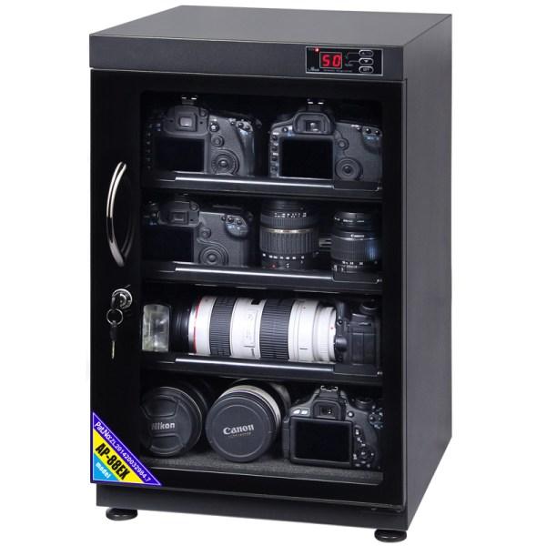 AUTENS 88L Digital Control Dehumidify Dry Cabinet Box DSLR Lens Camera Equipment Storage 2