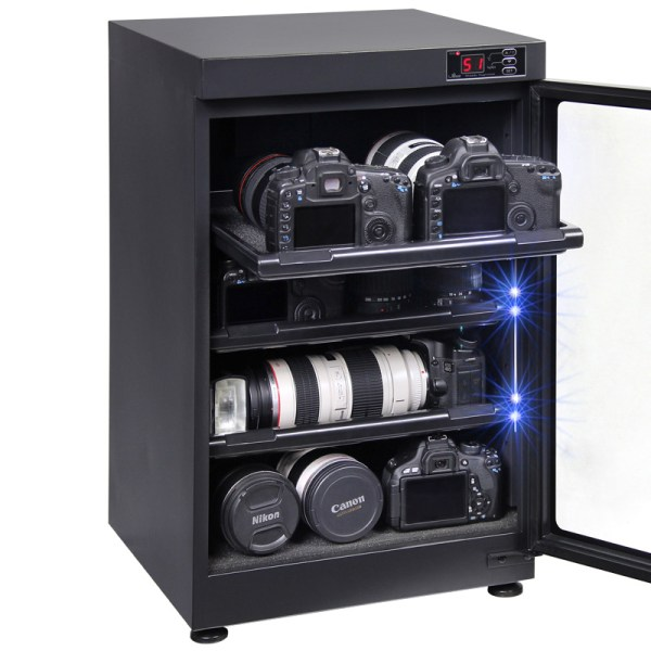 AUTENS 88L Digital Control Dehumidify Dry Cabinet Box DSLR Lens Camera Equipment Storage 3