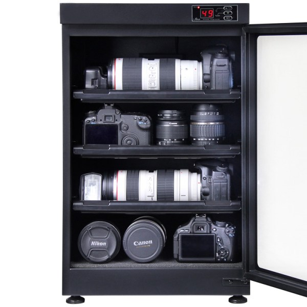 AUTENS 88L Digital Control Dehumidify Dry Cabinet Box DSLR Lens Camera Equipment Storage 4