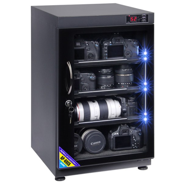 AUTENS 88L Touch Screen Camera Dehumidifying Dry Cabinet Storage Box for DSLR Camera Lens 6