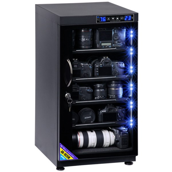 AUTENS 102L Touch Screen Camera Dehumidifying Dry Cabinet Storage Box for DSLR Camera Lens 1