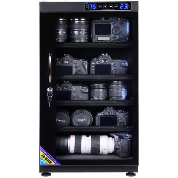 AUTENS 102L Touch Screen Camera Dehumidifying Dry Cabinet Storage Box for DSLR Camera Lens 2