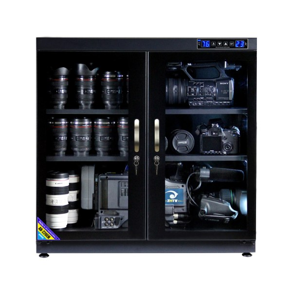 AUTENS 220L Touch Screen Camera Dehumidifying Dry Cabinet Storage Box for DSLR Camera Lens 1