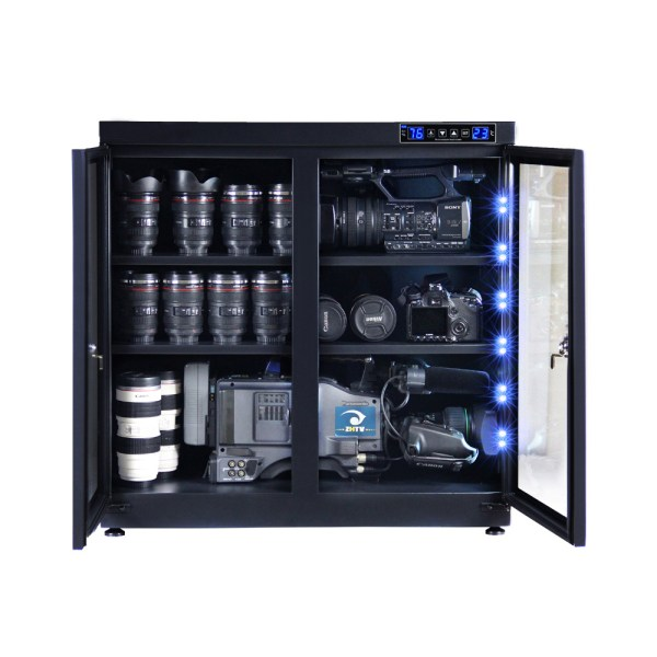 AUTENS 220L Touch Screen Camera Dehumidifying Dry Cabinet Storage Box for DSLR Camera Lens 2