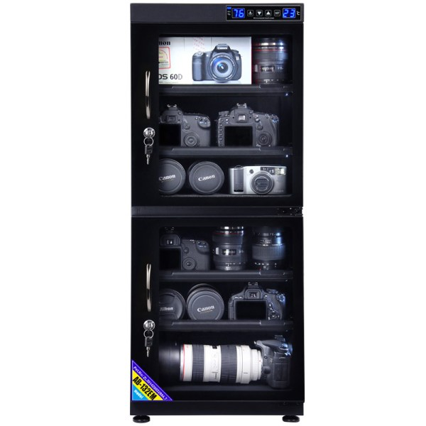 AUTENS 132L Touch Screen Camera Dehumidifying Dry Cabinet Storage Box for DSLR Camera Lens 2
