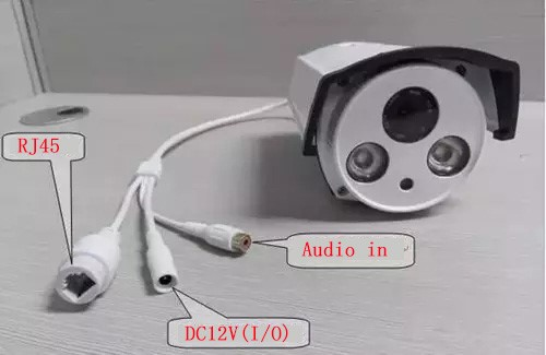 How to connect Audio microphone to Camera 3