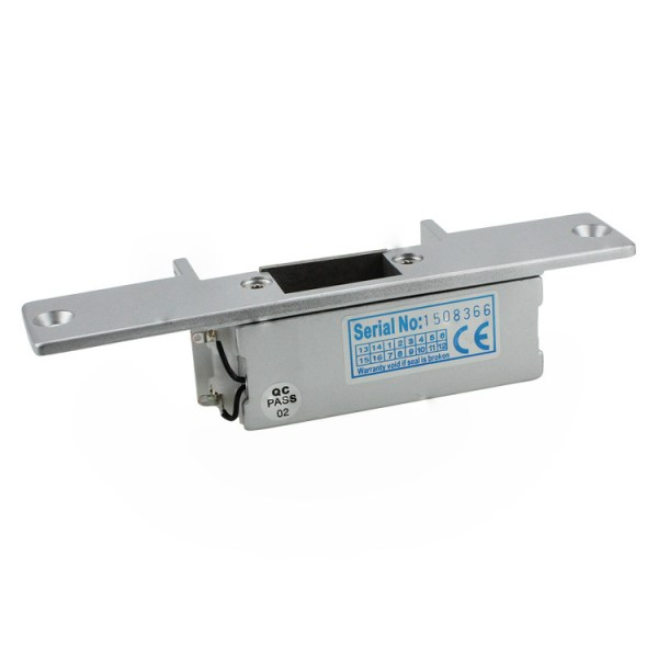 Electric Strike Door Lock for Access Control System Suitable for Wooden Door, Glass Door, Metal Door, Fireproof Door (NO-Open When Power ON) 4