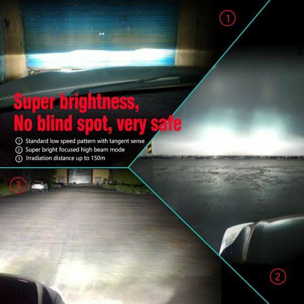 LED Car Headlight Bulbs 9005 HB3 H10 26000LM 110W High Beam/Low Beam/Fog Light 7